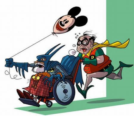 Old super heroes (27 pics)