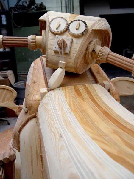 Art with wood – compilation of creative object made of wood (31 pics)