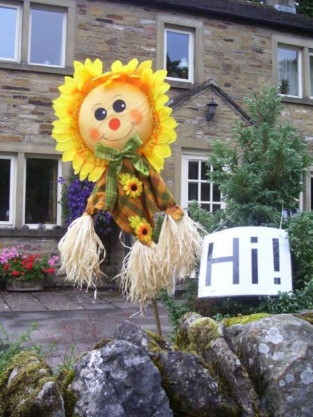 Funny scarecrow (18 pics)