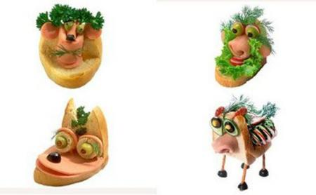 Creative sandwiches (17 photos)