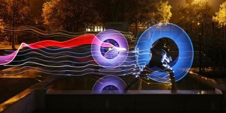 Amazing light paintings (35 pics)