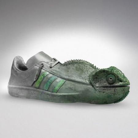 Sneakers sculptures (9 pics)