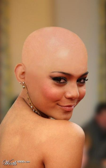 Bald celebs. Great photomontage (54 pics)