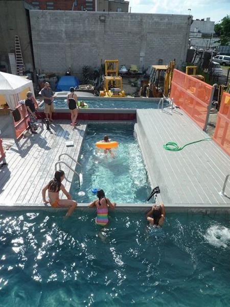 Cheap swimming pool (6 pics)