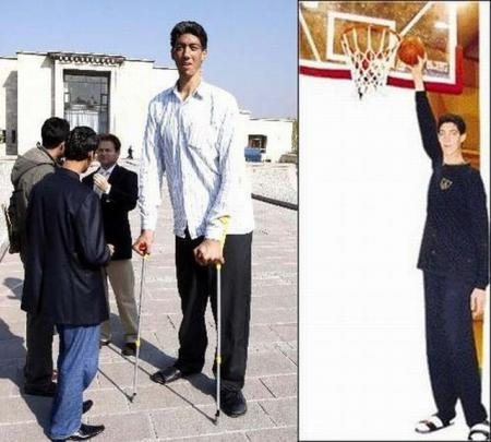 New tallest man in the world (26 pics + 1 video)