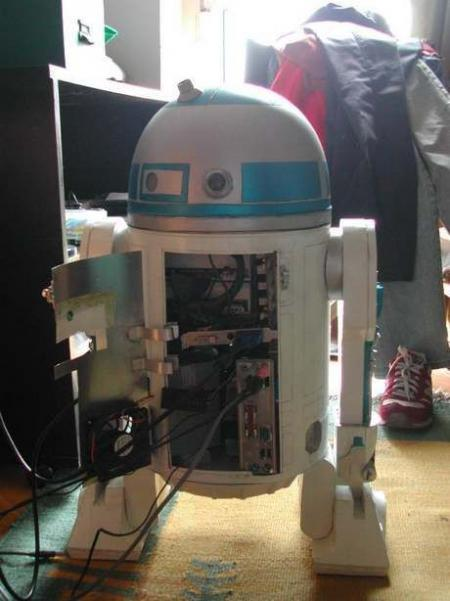 Star Wars R2D2 PC case mode (8 pics)